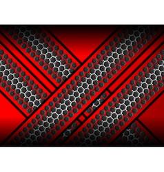 metallic texture backgrounds vector image vector image