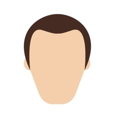 people man person face avatar vector image