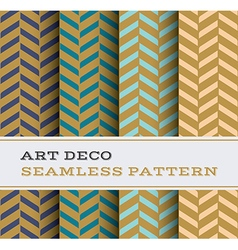 Art deco seamless pattern 18 vector