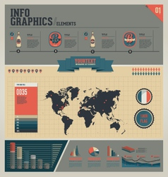 Infographic elements set vector