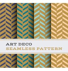 Art Deco seamless pattern 18 vector image vector image