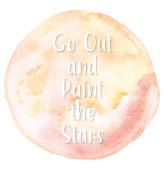 Art of watercolor stains of paint vector