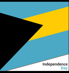 Bahamas independence day vector