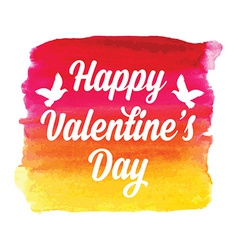 Valentines Day posterTypography Love quote vector image vector image