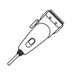 Haircutting machine isolated vector