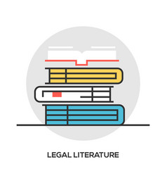 Book line icon outline sign vector