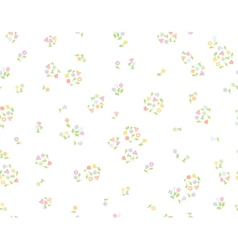 Floral cute pattern vector