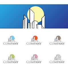 Residential logo vector