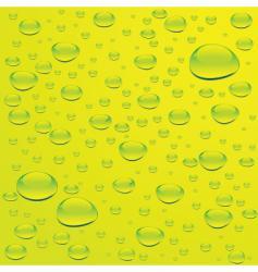 green bubble vector image