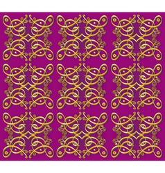 seamless vintage oriental background vector image vector image