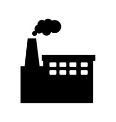Factory building plant vector