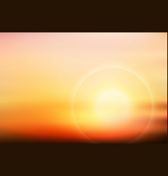 Beautiful twilight vector