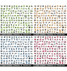 660 bicolor icons vector image vector image