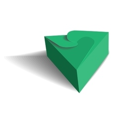 Cool realistic box vector
