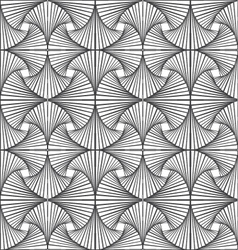 Zentangle pattern with black and white vector