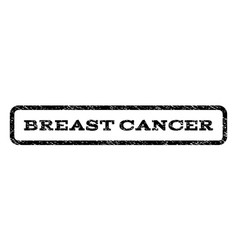Breast cancer watermark stamp vector