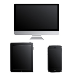 Contemporary Gadgets vector image vector image