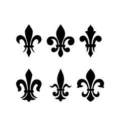 Heraldic symbol fleur de lis vector