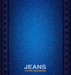 Jeans material seams textured background vector