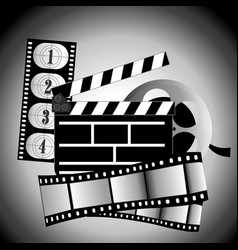 movie items vector image