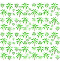 Palm trees seamless pattern EPS 10 vector image vector image