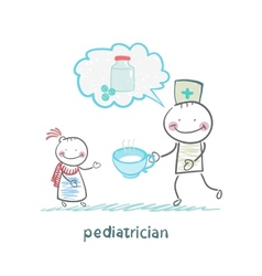 Pediatrician says about the pills and give vector