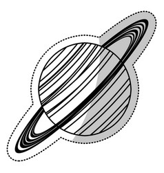 Saturn planet astronomy image vector