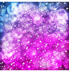 Abstract neon background violet pink background vector