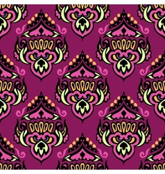 Seamless pattern ethnic colorful vector