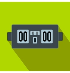 Scoreboard flat icon vector
