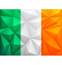 Flag of ireland vector