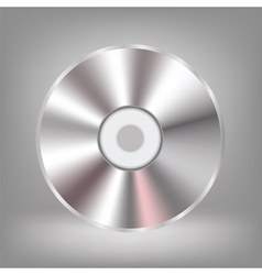 compact disc icon vector image vector image