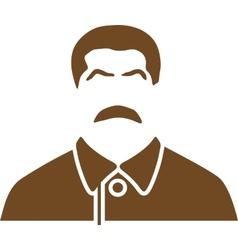 Portrait of joseph stalin vector