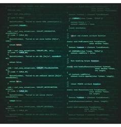 Software engineering background vector