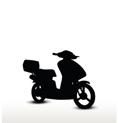 Bike silhouette vector