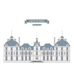 Cheverny france vector