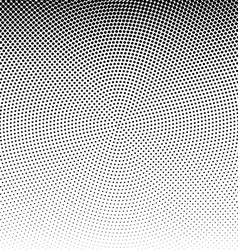 Radial dotted halftone background vector