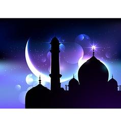 Ramadan festival background vector