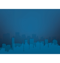 city night vector image
