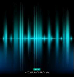 dark modern turquoise background vertical laser vector image vector image