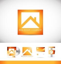 Real estate logo icon design vector