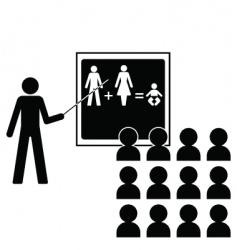 reproduction lesson vector image vector image