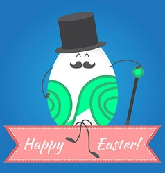 Happy easter happy eggs in eps vector