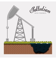 Pollution concept design vector