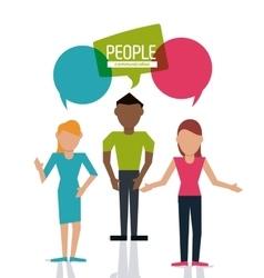 People icon design vector