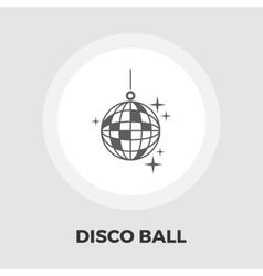 Disco ball flat icon vector
