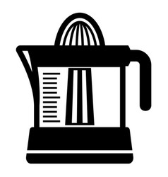 juicer icon simple black style vector image