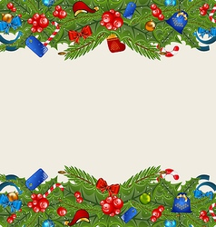 Christmas elegance background with holiday vector image vector image