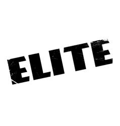 Elite rubber stamp vector