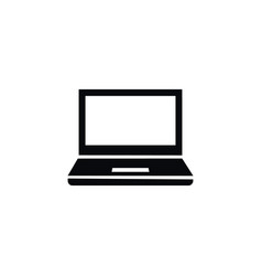 isolated desktop icon notebook element can vector image vector image